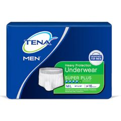 TENA Men Protective Underwear - Heavy Incontinence, Super Plus Absorbency