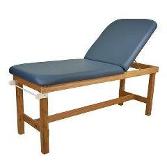 Oakworks Powerline Treatment Table with H-Brace & Back Rest
