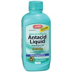 Cardinal Health Leader Regular Strength Antacid/Antigas Suspension