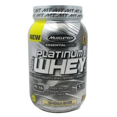 Essential Series MuscleTech Essential Series 100% Platinum Whey - Vanilla Cake