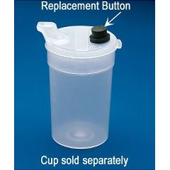 Ableware Replacement BUTTONS for Flo-Trol Vacuum Feeding Cup