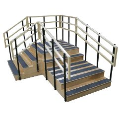 "Bariatric Training Stairs - 78"" X 104"""