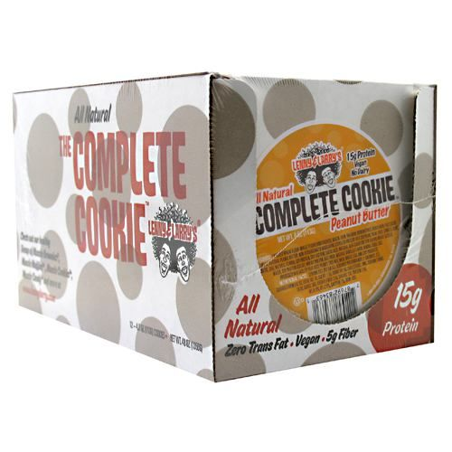 Lenny & Larry's All-Natural Complete Cookie - Peanut Butter Model 171 583889 01 Pack of 12
