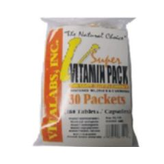 Vitalabs Super Vitamin Pack - 30 packets (180 tablets/capsules)