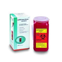 Invacare Supply Group Home Sharps Container