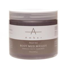 Amber Dead Sea & Chamomile Mud Masque, 16 Oz