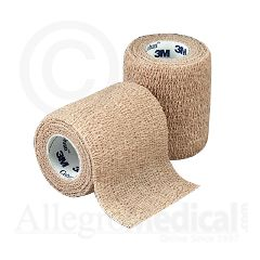 "Coban 3M Coban Self-Adherent Wrap 3"" wide Tan"