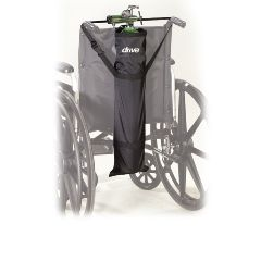 Wheelchair Carry Pouch for Oxygen Cylinder