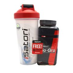 iSatori Bio-Gro + Blender Bottle - Unflavored