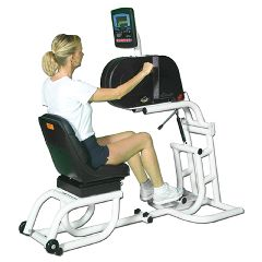 Endorphin Ube - 380-E2 Ergometer With Comfort Grip,  Adjustable Platform And Detachable Swivel Seat