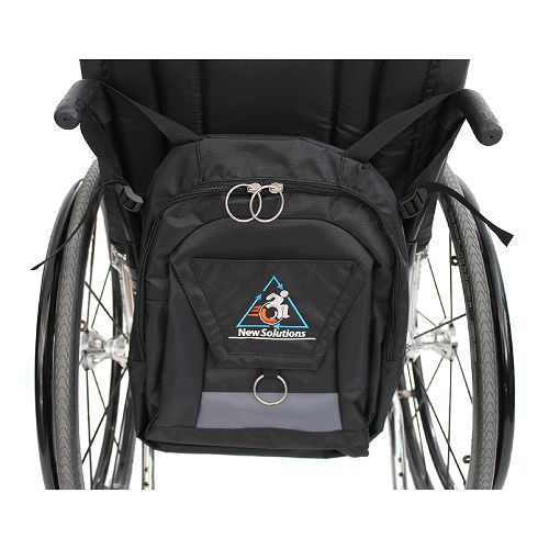 New Solutions Easy Access Deluxe Wheelchair Backpack Model 777 5027