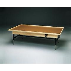 Fabrication Hi-Lo Upholstered Treatment Table, No Mat - Manual