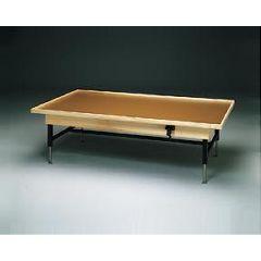 Hi-Lo Upholstered Treatment Table, No Mat - Manual