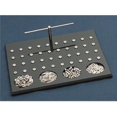 Roeder Manipulation And Dexterity Test - Roeder Accessory - 42 Each Pins, Washers, Crown And Hex Nuts
