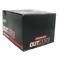 Nutrex Outrage Energy Shot - Green Apple