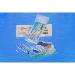 Cure Medical Male Pocket Intermittent Catheter Kit - 14Fr. 16""