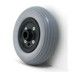 "New Solutions 7"" x 2"" Quickie Caster Wheels With Urethane Tires and B10 Bearings Pair"