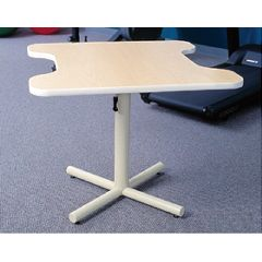 AliMed Dual Comfort Recess Height-Adjustable Table