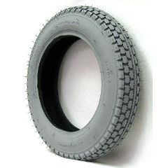 New Solutions Gray Pneumatic Power Plant Tire - 2.50-8