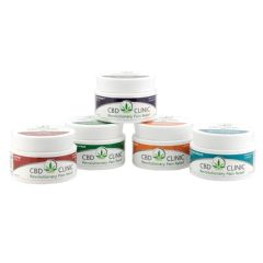 CBD Clinic™ Pain Relief Cream, 44g Jars