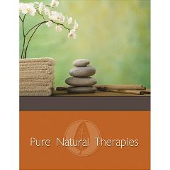 Gb Design Works Pure Natural Therapies Marketing Cards