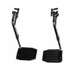 Hemi Footrest without Heel Loop