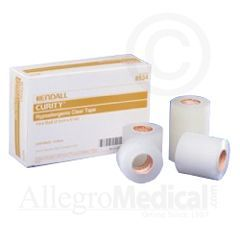 """Curity Hypoallergenic Clear Tape - 1/2"""" x 10 Yards"""