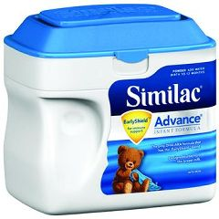 Invacare Supply Group Similac Advance Infant Formula