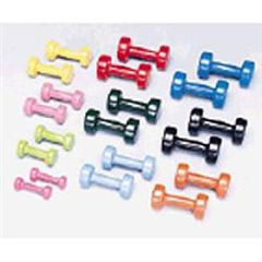 ScripHessco Vinyl Dumbbell Set 1-10Lbs 1 Pair Per Weight