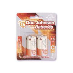 Doc Johnson C Batteries - 2 Pack