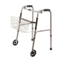 Mabis DMI DMI Snap-On Walker Basket, White