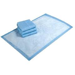 Harmonie Disposable Underpads - TENA Regular, Blue