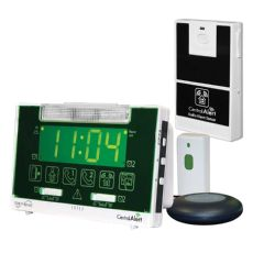 Serene Innovations Inc Serene Innovations CentralAlert CA-360 Alarm Clock with Audio Sensor