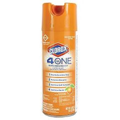 R3-Bunzl Clorox 4 in One Disinfectant & Sanitizer Spray - 14oz.