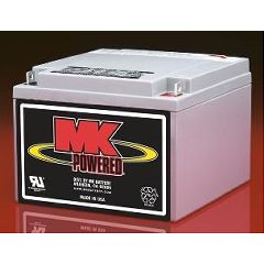 MK Battery MK 12 Volt - 26 AMP Sealed Light Duty AGM Battery