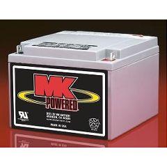 MK 12 Volt - 26 AMP Sealed Light Duty AGM Battery