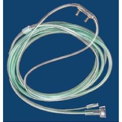 McKesson ETCO2 Nasal Sampling Cannula with O2    Male Luer-Lok  , 7 Foot