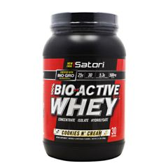 iSatori Bio-Active Whey - Cookies & Cream