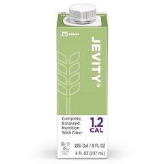 Jevity 1.2 CAL  - 8 oz carton - High Protein Nutrition with Fiber