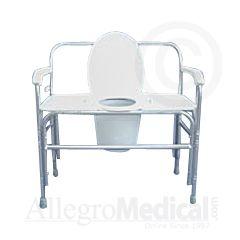 ConvaQuip Bariatric Bedside Commode -1000 lb. Capacity
