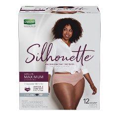 Depend Silhouette Briefs for Women - Sleek Protective Underwear