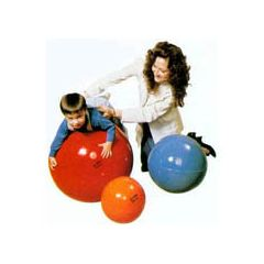 "Tumble Forms® Neuro Developmental Training Balls - 22"" - Rigid core to prevent ""bottoming out"""