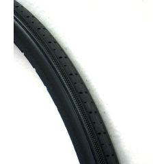 "New Solutions Urethane Snap-on Round Profile Tire 24"" x 1 3/8"" Fits Most"