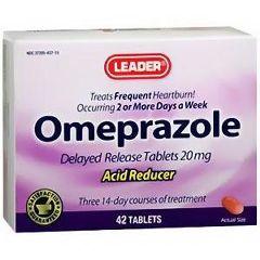 Cardinal Health Leader Omeprazole Tablets 20 mg