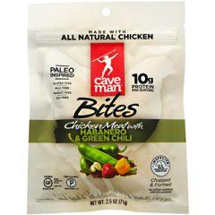 Caveman Foods Primal Bites - Habanero & Green Chili