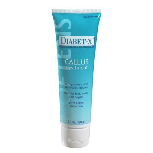 FNC Medical Diabet-X Callus Treatment - 4.2 oz Tube Model 068 5033