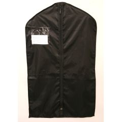 Deluxe Comfort Garment Bag - Suit Size - Black