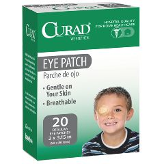 CURAD Eye Patch, 2 x 3 inch