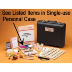Single Use Disposable Case for Sensory Stimulation Activities Kit