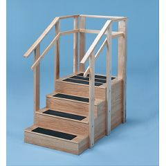 Bailey Manufacturing One-Sided Straight-Type Staircase